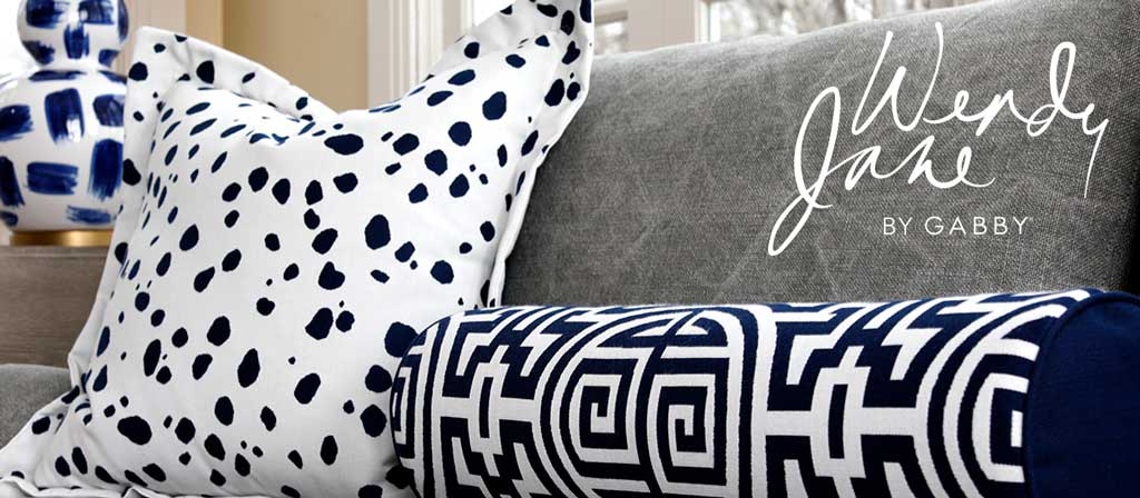 Pillows by Wendy Jane