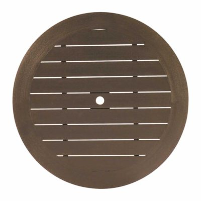 "Resysta® 50"" Round Table Top (HOLE)"