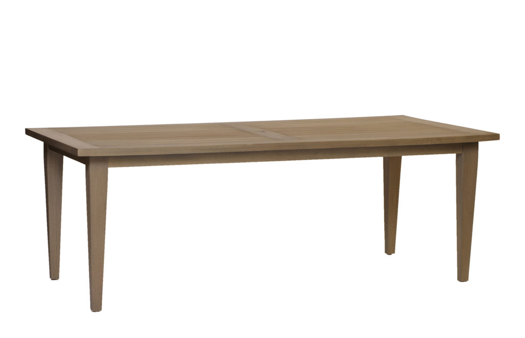 Teak Rectangular Dining Table | Summer Classics Outdoor Furniture