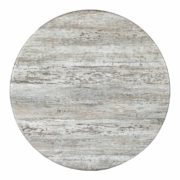 "Faux Stone 36"" Round Table Top (HOLE)"