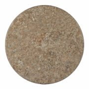 "Faux Stone 48"" Round Table Top (HOLE)"