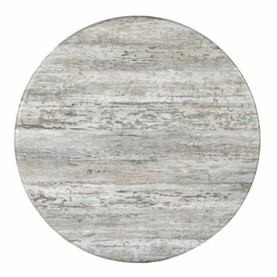 """Faux Stone 48"""" Round Table Top (HOLE)"""