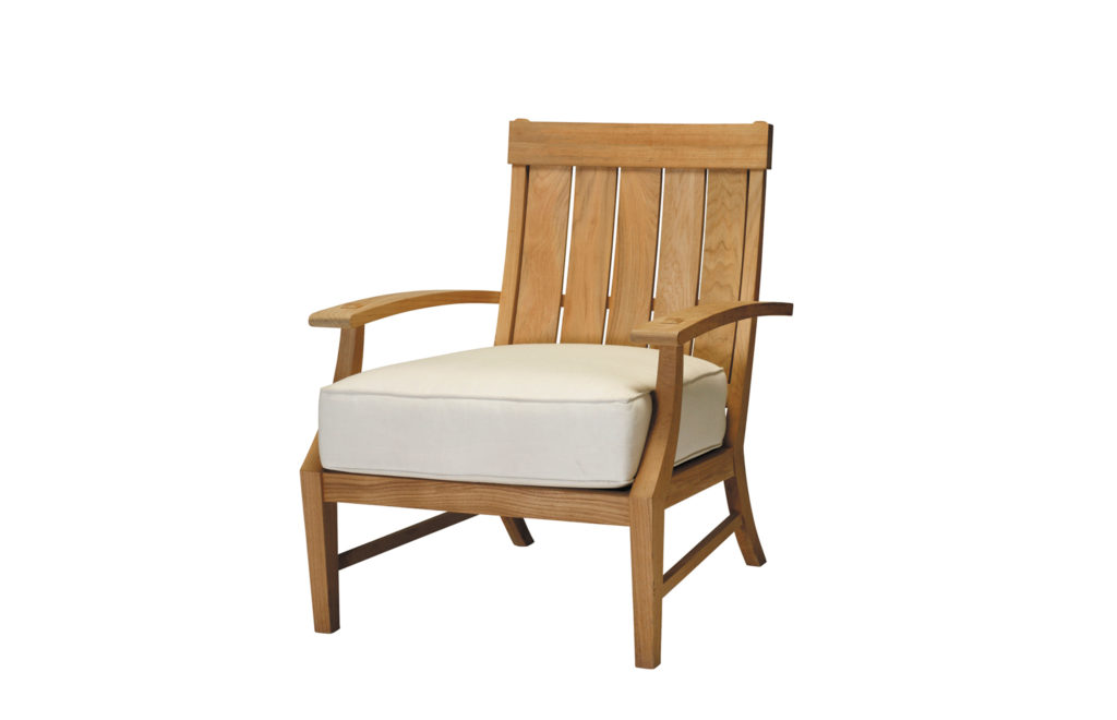 Teak Lounge Chair | Croquet Collection | Summer Classics Outdoor Furniture