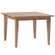 "Club Teak 42"" Square Farm Table"