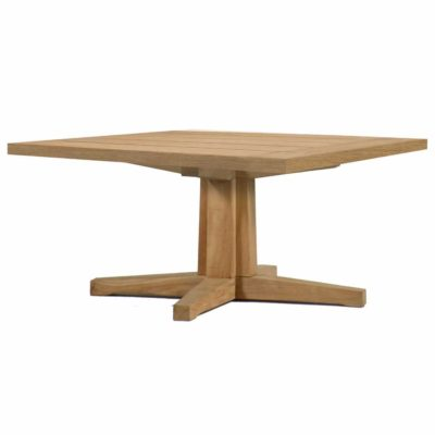 Club Teak Coffee Table Pedestal Base