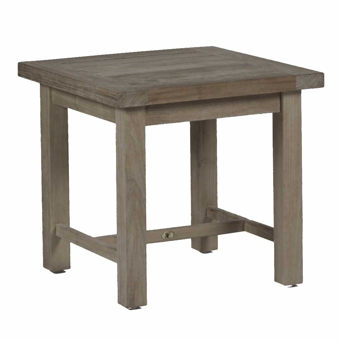 Club teak end table outdoor end table for Teak side table outdoor