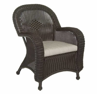Classic Wicker Dining Chair