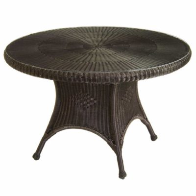 Classic Wicker Dining Table