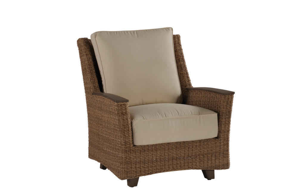 Resin Wicker Lounge Chair | Royan Collection | Summer Classics Outdoor Furniture