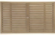 "86"" x 43"" Slatted Rectangular Table Top (HOLE)"