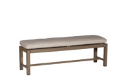 "Club Aluminum 60"" Bench"