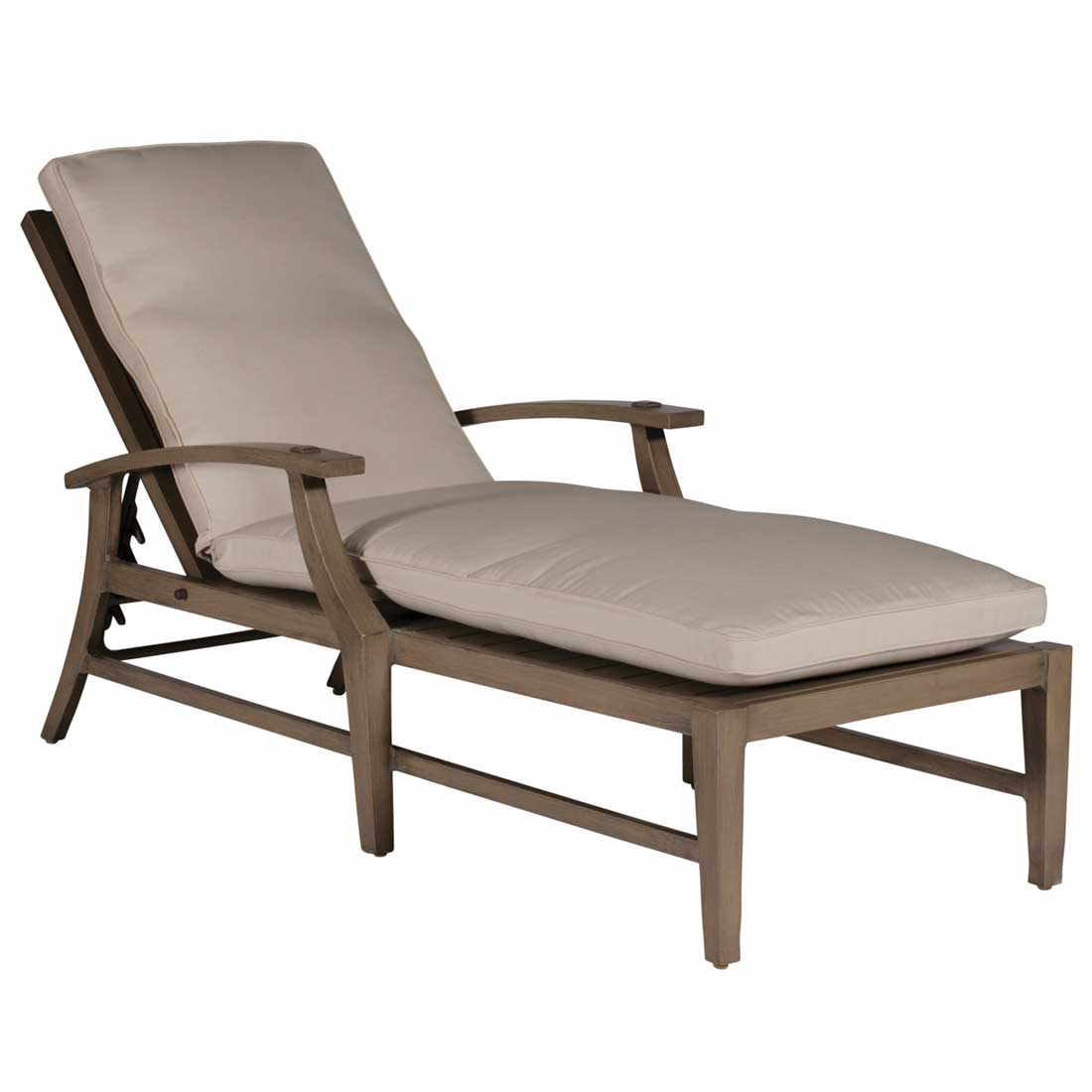 Croquet aluminum chaise lounge for Aluminum chaise lounges