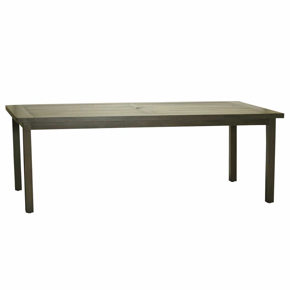 Club Aluminum Rectangular Dining Table Outdoor - Aluminum dining table