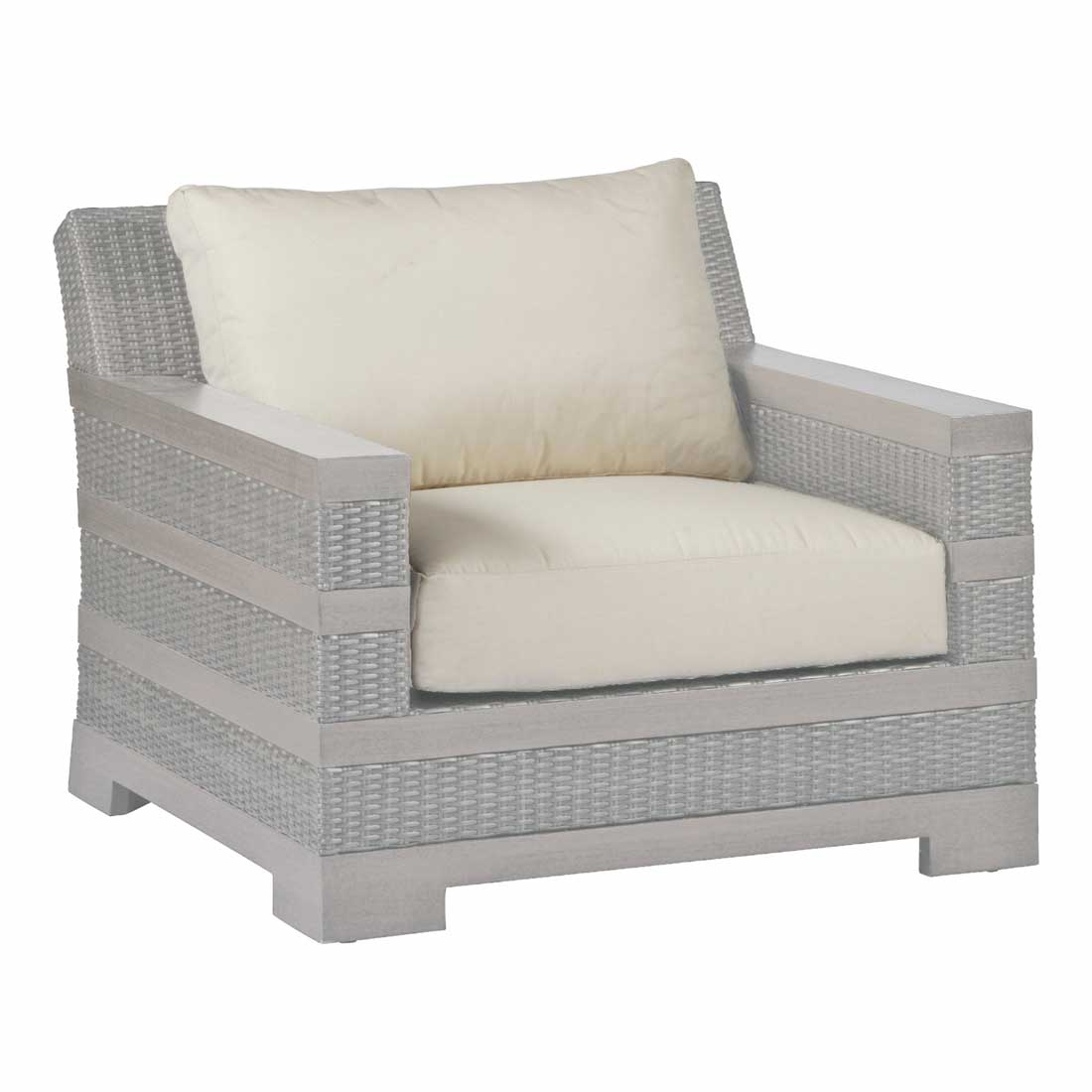Sierra Resin Wicker Chaise Lounges