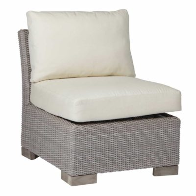 Club Woven Slipper Chair