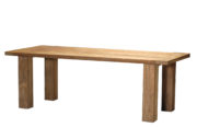 Croquet Teak Rectangular Table (Reclaimed)