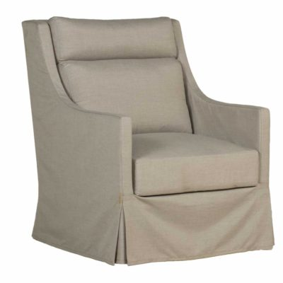 Helena Upholstered Swivel Glide Chair