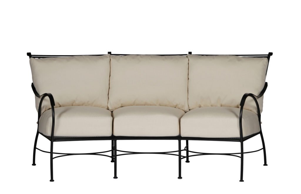 Wright Iron Curve Sofa | Paris Collection | Summer Classics Outdoor Furniture