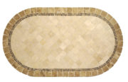 "Lake Como 48"" x 84"" Oval Table Top"