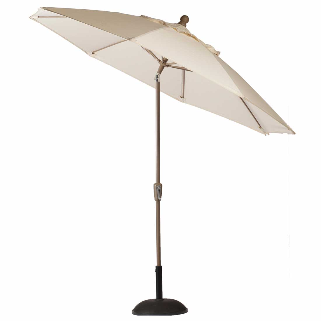 9 Crank Auto Tilt Umbrella Outdoor Patio Umbrella