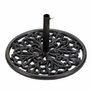 "Florentine Cast Iron 23"" Umbrella Base"