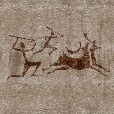 Hunting Party | Cave Painting
