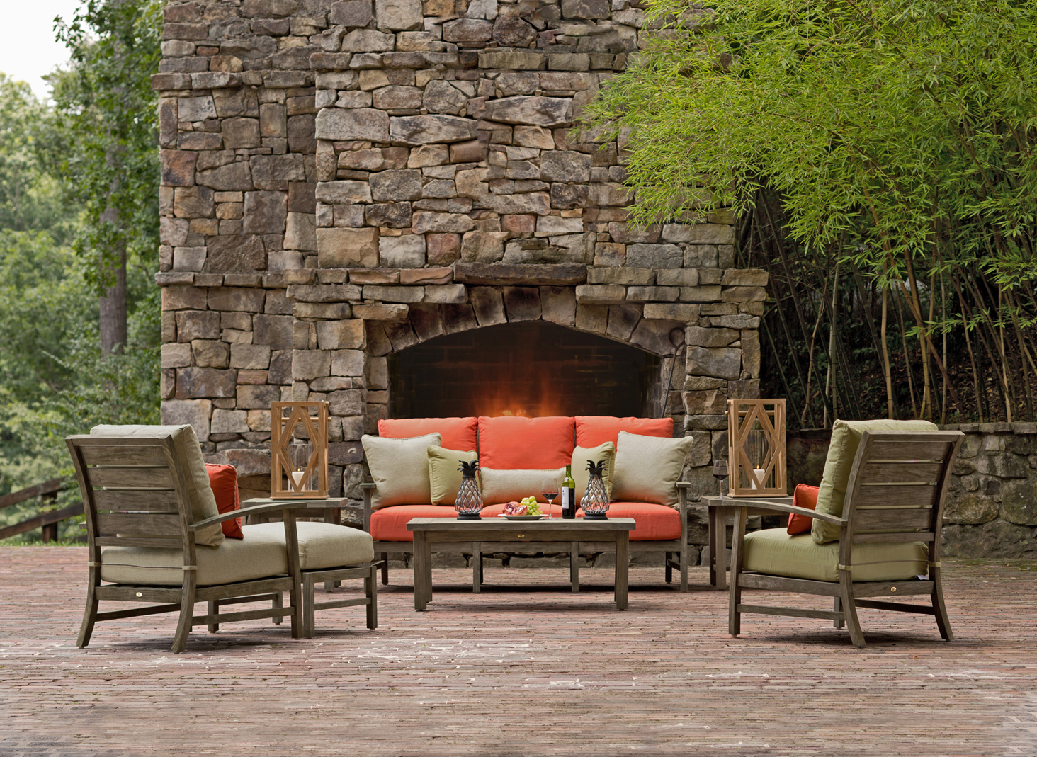inside out: selecting outdoor fabrics and upholstery for comfort