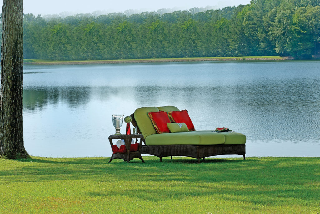 Woven Resin Daybed | Classic Wicker Collection | Summer Classics Outdoor Furniture