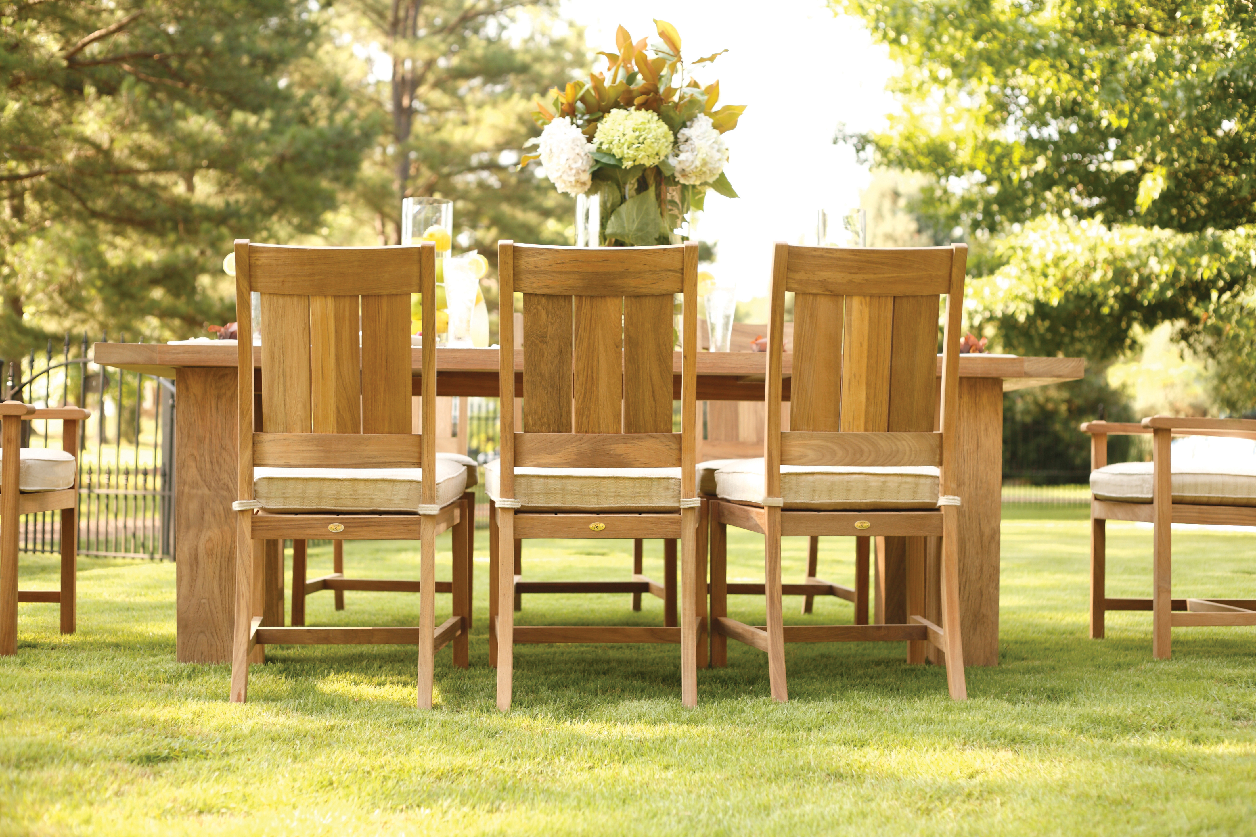 The Silver Lining In Teak Furniture