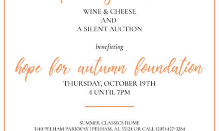 Wine & Cheese to Benefit Hope for Autumn