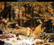 Holyday (or The Picnic) by James Tissot (1876)
