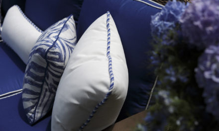 Top Outdoor Fabric Trends for 2016: Jacquard, Damask, and Linen