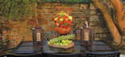 Fall Centerpieces for Outdoor Entertaining