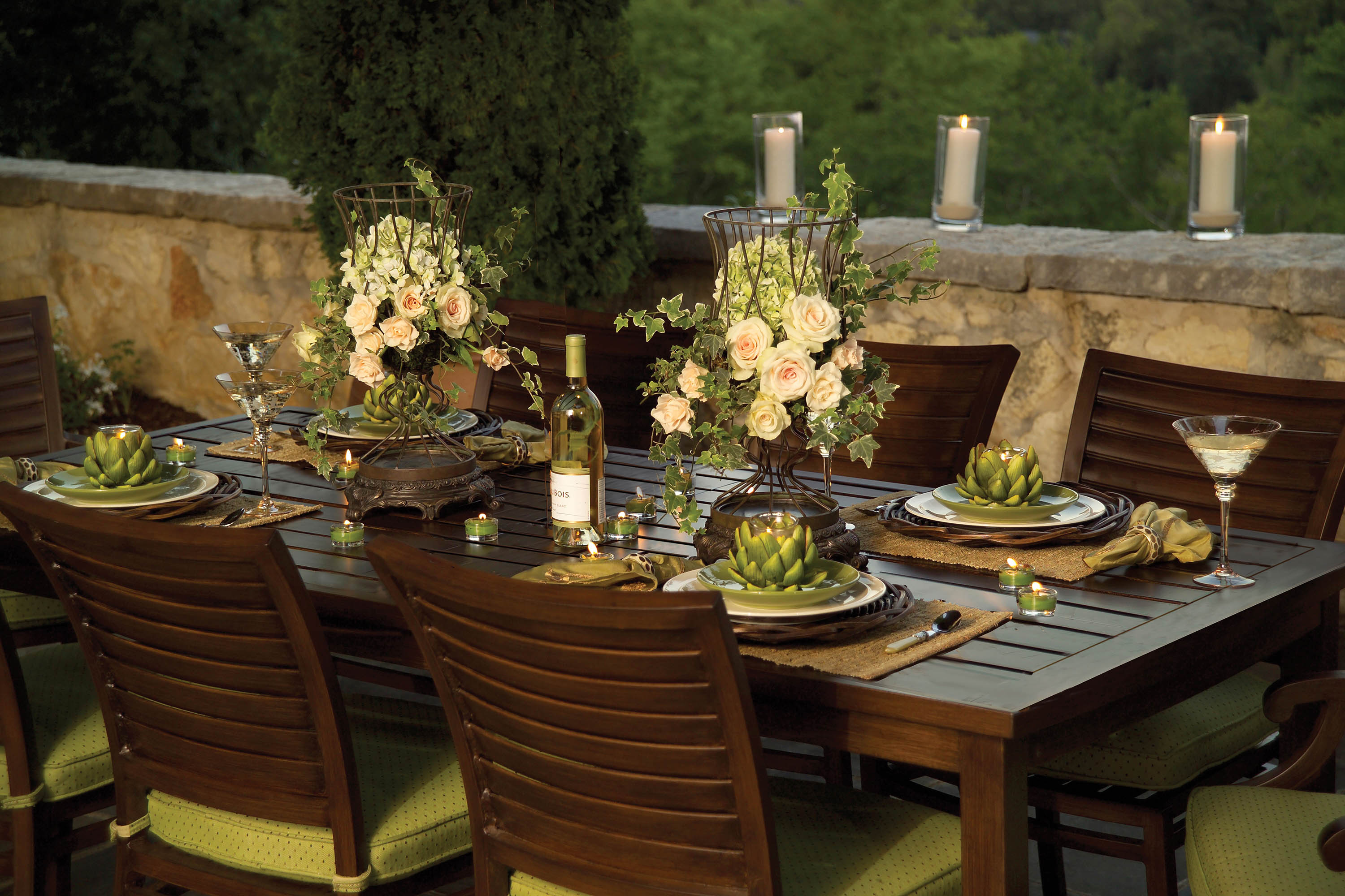 Fall centerpieces for outdoor entertaining summer classics