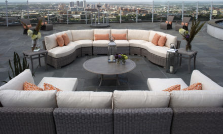 Stretch Your Imagination with Outdoor Sectional Seating