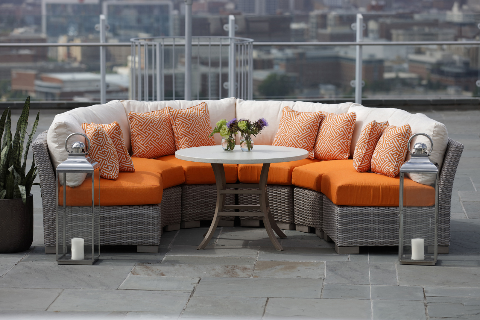 Wonderful Summer Classics Offers Outdoor Sectional Seating Designed To Fit Any Space.  No Matter How Big (or Small) Your Living Area, You Can Get A Look You Love.