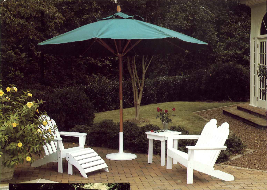 adirondack wood chair | Plantation Collection by Summer Classics 1993