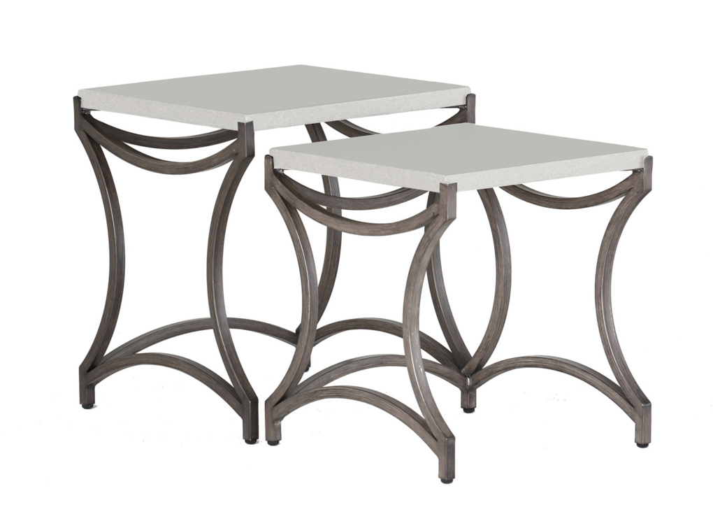 Caroline Outdoor Nesting Tables by Summer Classics