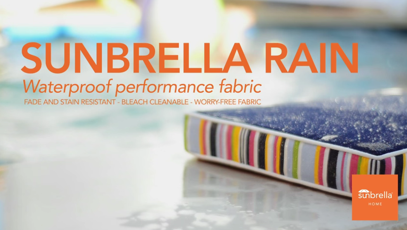 Sunbrella Rain Cushion on Summer Classics