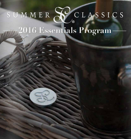 Summer Classics 2016 Essentials Program