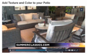 Add Texture and Color to your Patio