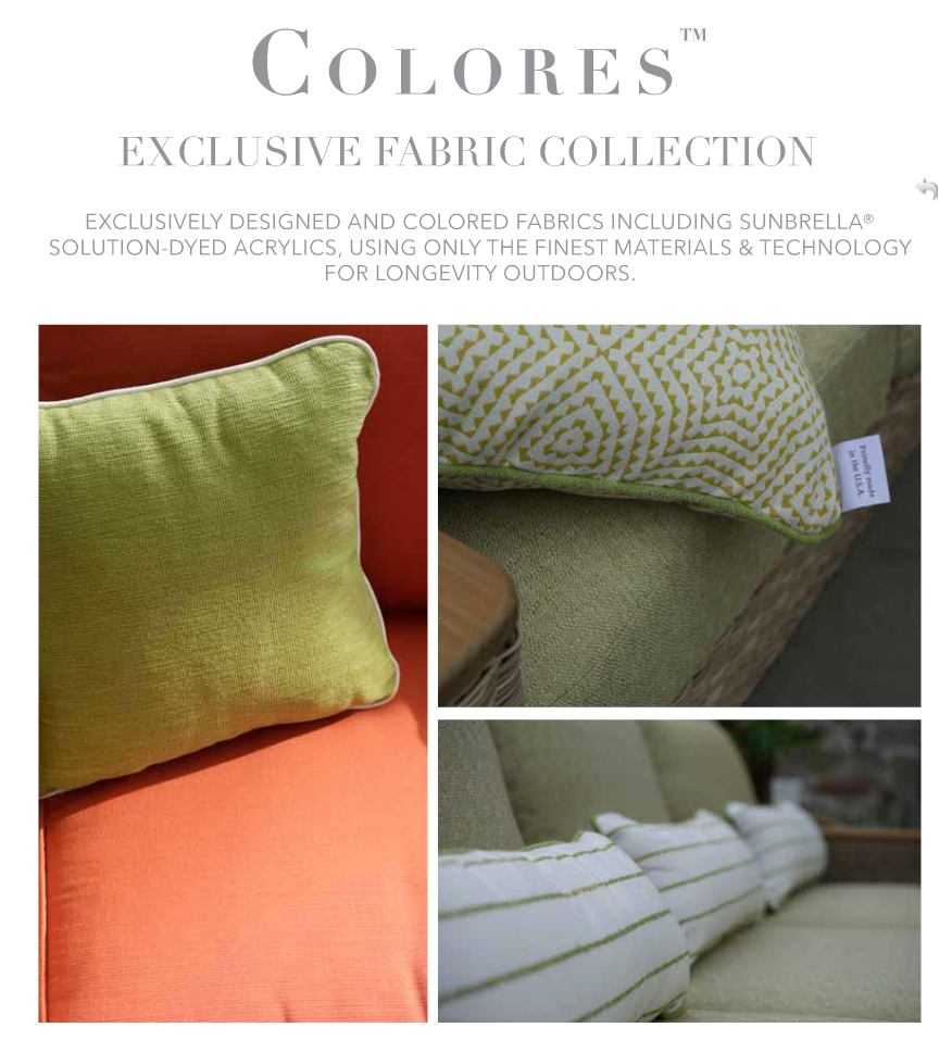 Summer Classics Colores Exclusive Fabric Collection