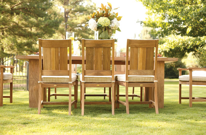 Peek of Teak…5 differences in Summer Classics Wood Outdoor