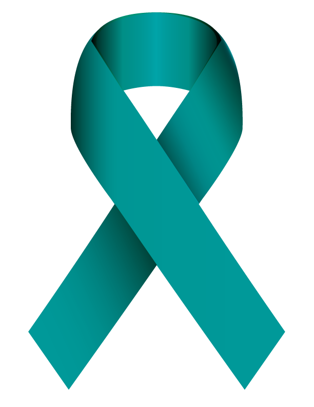 Teal Ribbon Ovarian Cancer Awareness
