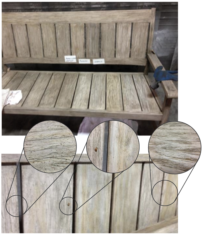 The Weathered Teak Finish Is Intended To Be A Maintenance Free Finish Part 86