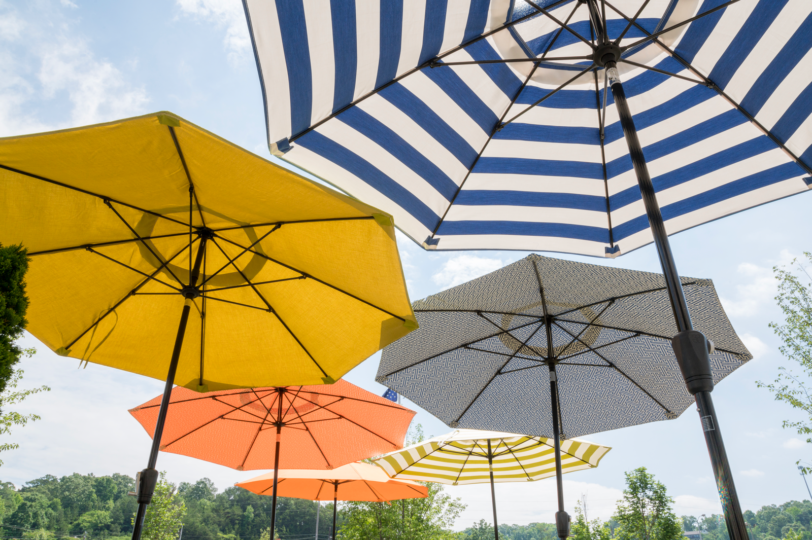 Exceptional SPINNING THE COLOR WHEEL: When It Comes To Selecting Your Patio Umbrella,  One Of The Hardest Decisions Boils Down To Color Choice. Though Bright  Colors And ...