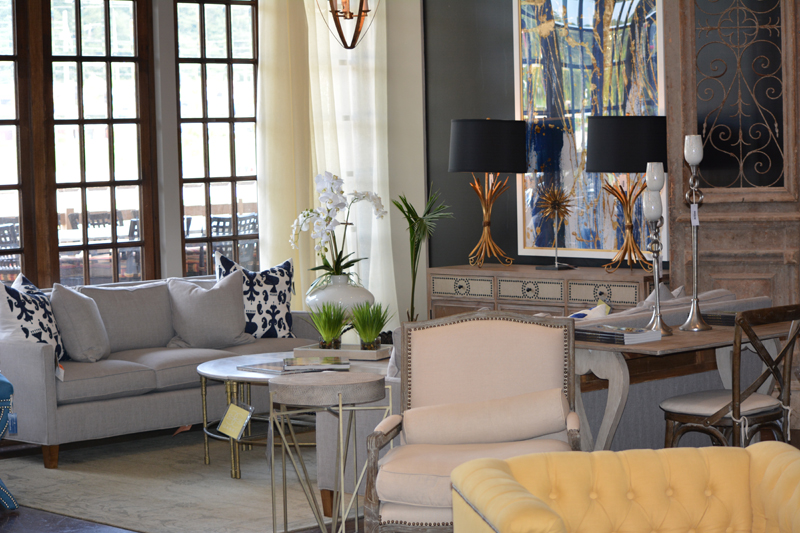 Gabby furniture in Pelham showroom