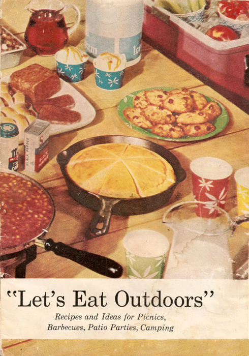 Let's Eat Outdoors recipe book