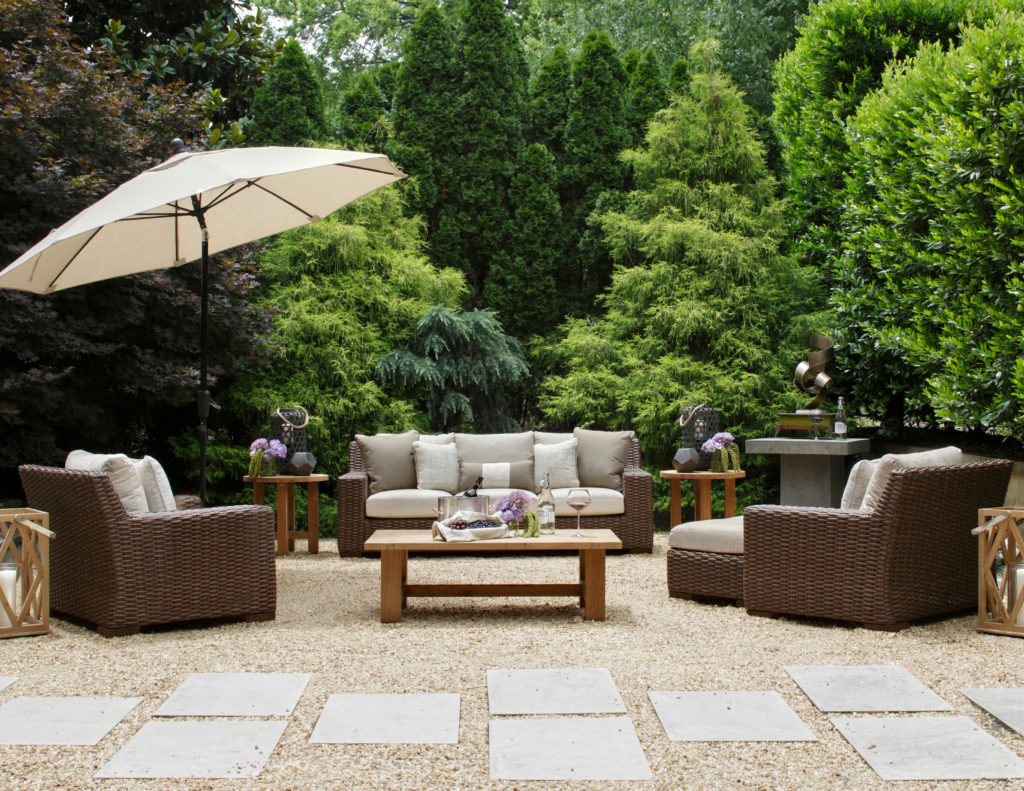 high point market outdoor furniture   Milano Collection