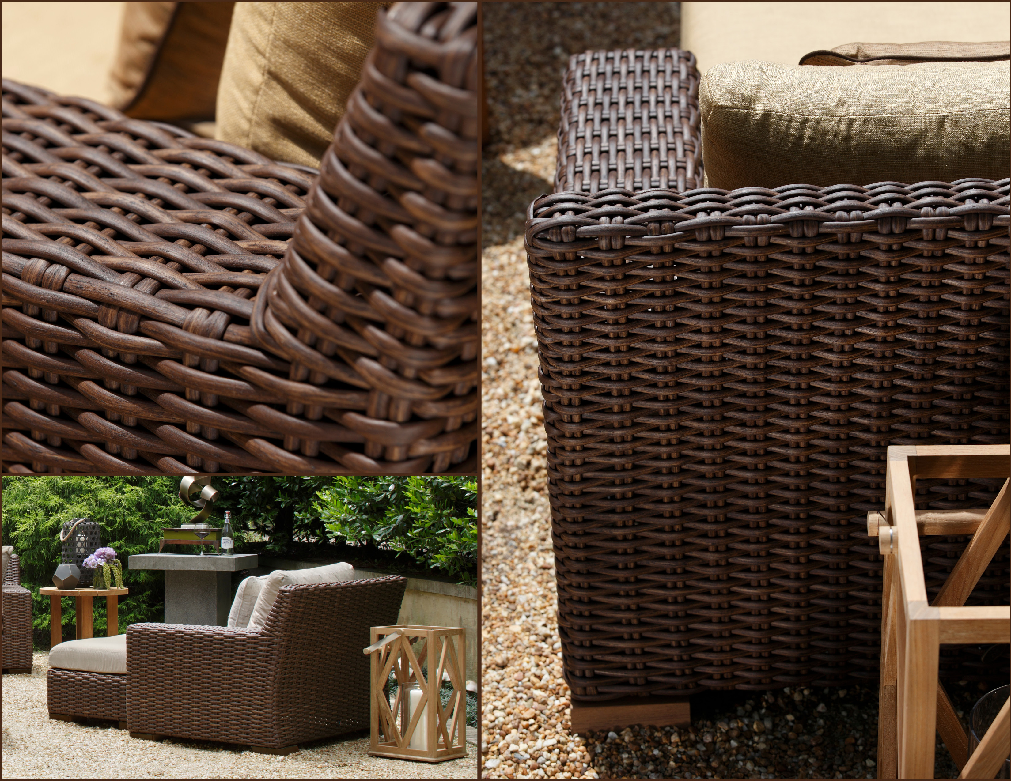 Elegant High Point Market Outdoor Furniture   Milano Collection